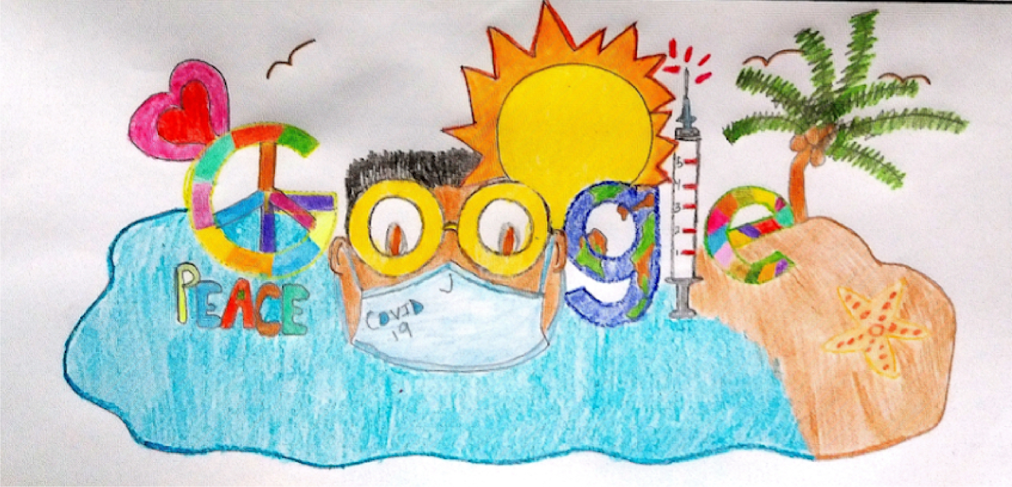 Help Pearl B. Larsen Fourth Grader Win Doodle for Google Competition